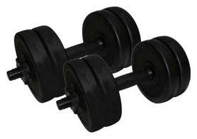 Гантели наборные Newt Rock Pro 2 шт по 5,5 кг (NE-PL-G-005-2)