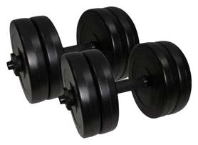 Гантели наборные Newt Rock Pro 2 шт по 10,5 кг (NE-PL-G-010-2)
