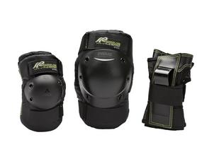 Защита для катания К2 Prime W Pad Set, черно-зеленая (3041601.1.1-2019)