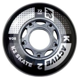 Колеса для роликовых коньков K2 72 мм Active Wheel 4-Pack (30B3000.1.1.1SIZ)