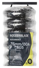 Колеса для роликовых коньков Rollerblade 76ммм/80A Pack+SG5+6MMSP (8PCS) (6951000) - Фото №3