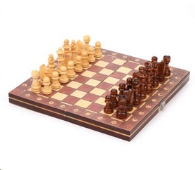 Набор игр 3 в 1 (шахматы, шашки, нарды) магнитный Backgammon