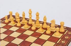Набор игр 3 в 1 (шахматы, шашки, нарды) магнитный Backgammon - Фото №3