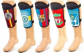 Щитки футбольные клубные Soccer FB-0664 (в ассортименте)