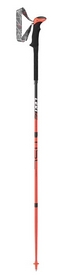 Палки треккинговые Leki Micro Stick Carbon – neonred/black-white, 120 см (6492070)