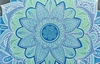 """Коврик для йоги круглый Record FI-6218-5-C 3 мм """"Ледяной цветок"""", 150 см - Фото №2"""