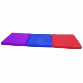 Мат складной детский Тia-Sport с 3-х частей (sm-0142), 150-50-5 см