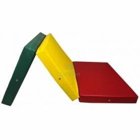 Мат складной Тia-Sport с 3-х частей (sm-0136), 200-100-10 см