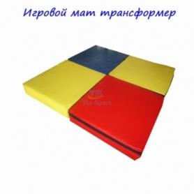 Мат игровой Трансформер Тia-Sport (sm-0125), 100-100-10 см
