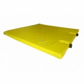 Мат гимнастический с вырезом Тia-Sport (sm-0129), 120-100-5 см