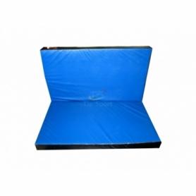 Мат гимнастический складной с 2-х частей Тia-Sport (sm-0133), 120-100-8 см