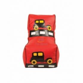 Кресло мешок  детский Машинка красная