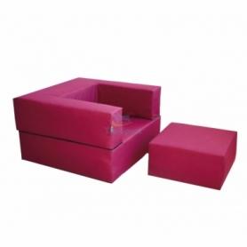 Комплект мебели Zipli (кресло и пуф)