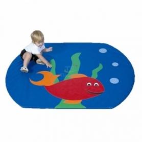 Детский мат-коврик для развития Рыбка Тia-sport