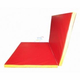 Мат гимнастический складной Тia-Sport с 2-х частей (sm-0135), 150-100-5 см