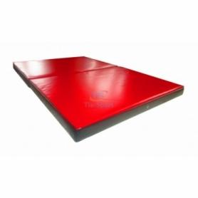 Мат гимнастический складной ПВХ с 2-х частей Тia-Sport (sm-0143), 150-100-8 см