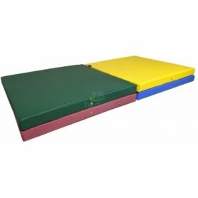 Мат гимнастический складной Тia-Sport с 4-х частей (sm-0141), 400-100-8 см