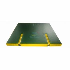 Мат гимнастический с вырезом Тia-Sport (sm-0130), 120-100-8 см