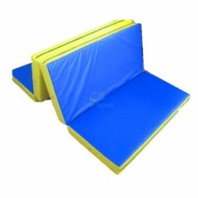 Мат гимнастический складной Тia-Sport с 4-х частей (sm-0137), 200-100-10 см