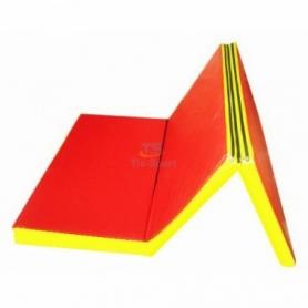 Мат гимнастический складной Тia-Sport с 3-х частей (150-100-10 см)