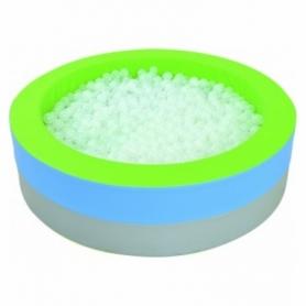 Сухой бассейн с подсветкой круглый