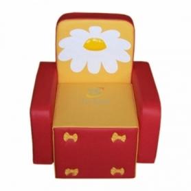 Кресло Бантик с аппликацией (цвета в ассортименте)