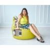 Кресло груша с карманом Люкскомфорт микс - Фото №3