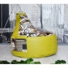 Кресло груша с карманом Люкскомфорт микс - Фото №4