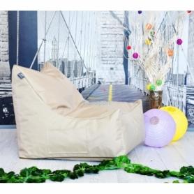 Бескаркасное кресло Вильнюс детское однотонное - Фото №4
