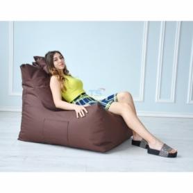 Бескаркасное кресло Барселона однотонное Оксфорд - Фото №6