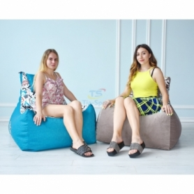 Бескаркасное кресло Барселона велюр - Фото №6