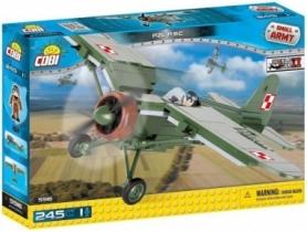 Конструктор COBI Вторая Мировая Война Самолет PZL P.11C (COBI-5516)