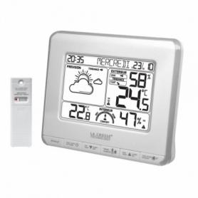 Метеостанция La Crosse WS6818 White/Silver