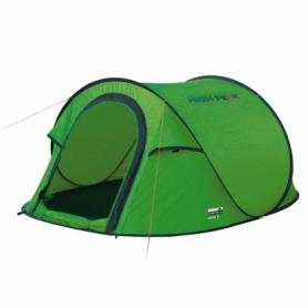 Палатка трехместная High Peak Vision 3 (Green)