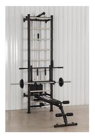 Профессиональная система эспандеров со скамьей для пресса и спины Кросс-тренер Full L (6774)