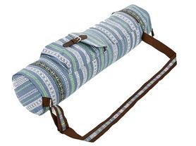 Сумка для фитнеса и йоги Yoga bag Fodoko (FI-6972-7) - серо-синяя