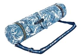 Сумка для фитнеса и йоги Yoga bag Fodoko (FI-6972-3) - сине-белая