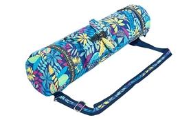 Сумка для фитнеса и йоги Yoga bag Fodoko (FI-6972-2) - сине-голубая