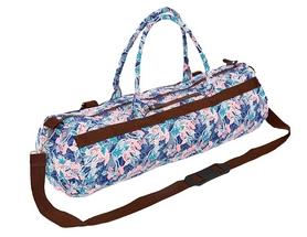 Сумка для йога-коврика Yoga bag Kindfolk (FI-6969-5) - розово-голубая