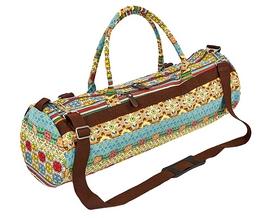 Сумка для йога-коврика Yoga bag Kindfolk (FI-6969-3) - бежево-голубая