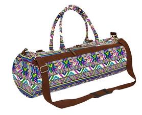 Сумка для йога-коврика Yoga bag Kindfolk (FI-6969-2) - сине-фиолетовая