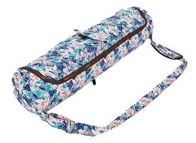 Сумка для йога-коврика Yoga bag Kindfolk (FI-8362-2) - розовая-голубая
