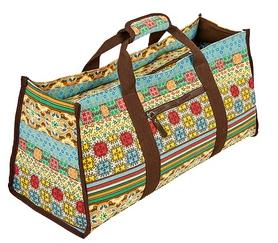 Сумка для фитнеса и йоги Yoga bag DoYourYoga (FI-6971-3) - бежево-голубая