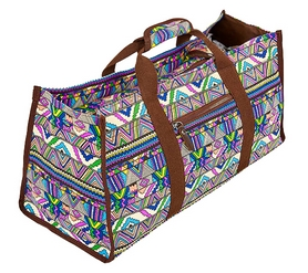 Сумка для фитнеса и йоги Yoga bag DoYourYoga (FI-6971-2) - сине-фиолетовая