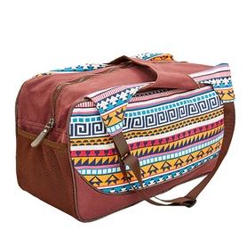 Сумка для йога-коврика Yoga bag Kindfolk (FI-8366-1) - оранжево-голубая