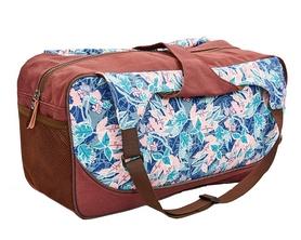 Сумка для йога-коврика Yoga bag Kindfolk (FI-8366-2) - розово-голубая