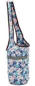 Сумка для йога-коврика Yoga bag Kindfolk (FI-8364-2) - розово-голубая