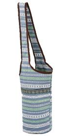 Сумка для йога-коврика Yoga bag Kindfolk (FI-8364-3)- серо-синяя