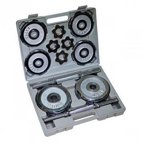 Набор гантелей в кейсе Stein, 2 шт по 10 кг (DB3044-20)