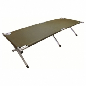 Раскладушка кемпинговая Highlander Aluminium Camp Bed Green